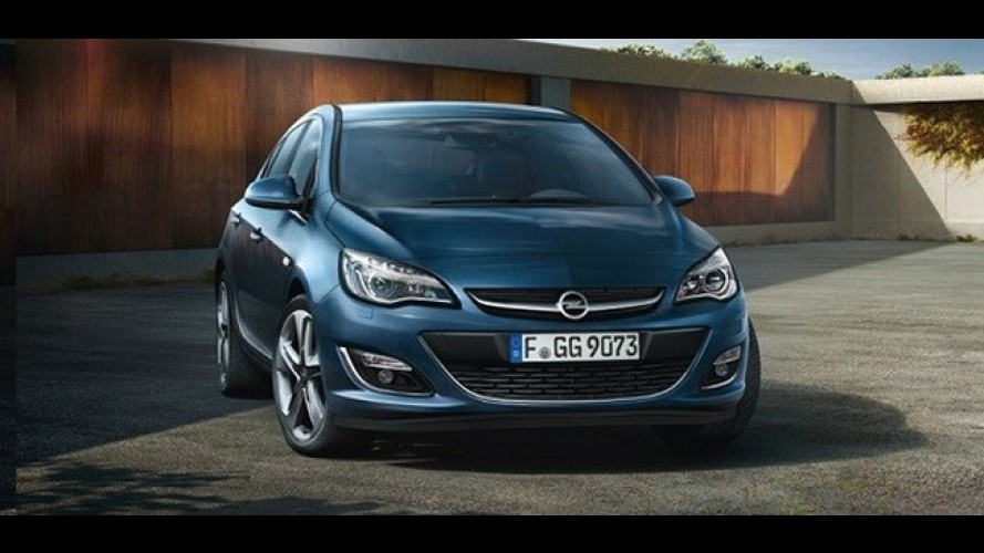 Novo Opel Astra ganha série especial