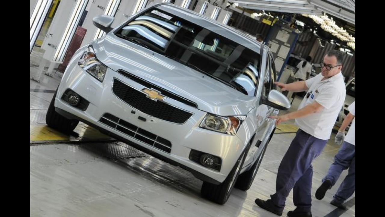 GM investirá R$ 6,5 bilhões até 2018 em novos modelos e tecnologias