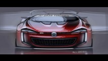 Animal! VW Golf GTI Vision Concept aparece em fotos e vídeo