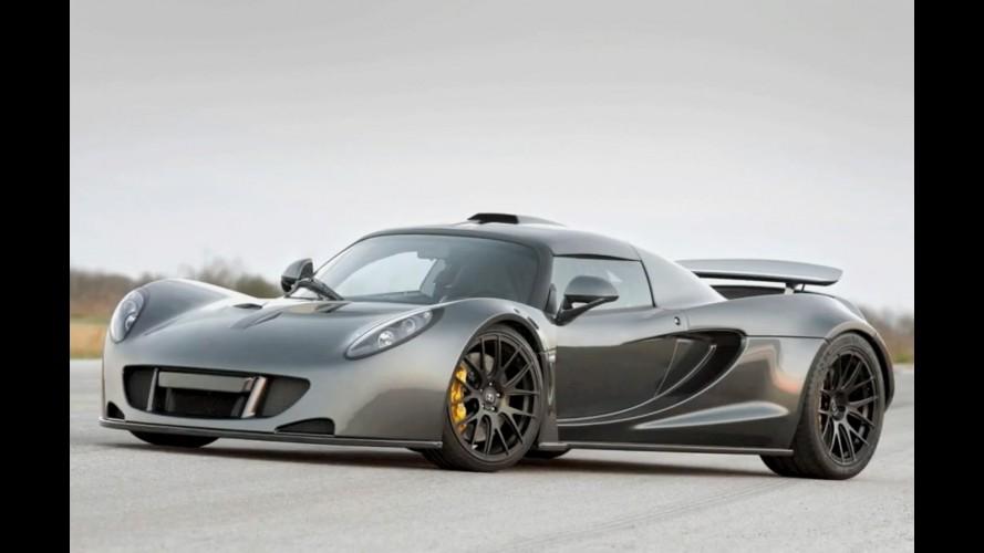 Vídeo: Venom GT bate recorde mundial de aceleração de 0 a 300 km/h