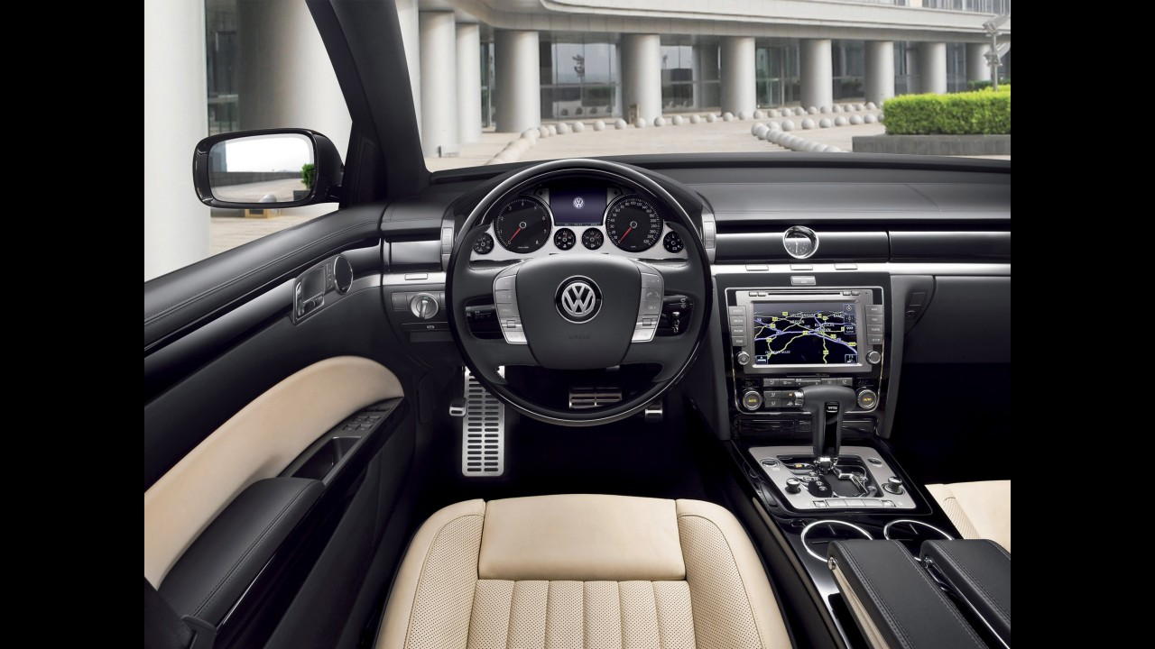 Nova geração do VW Phaeton poderá ser apresentada em Detroit