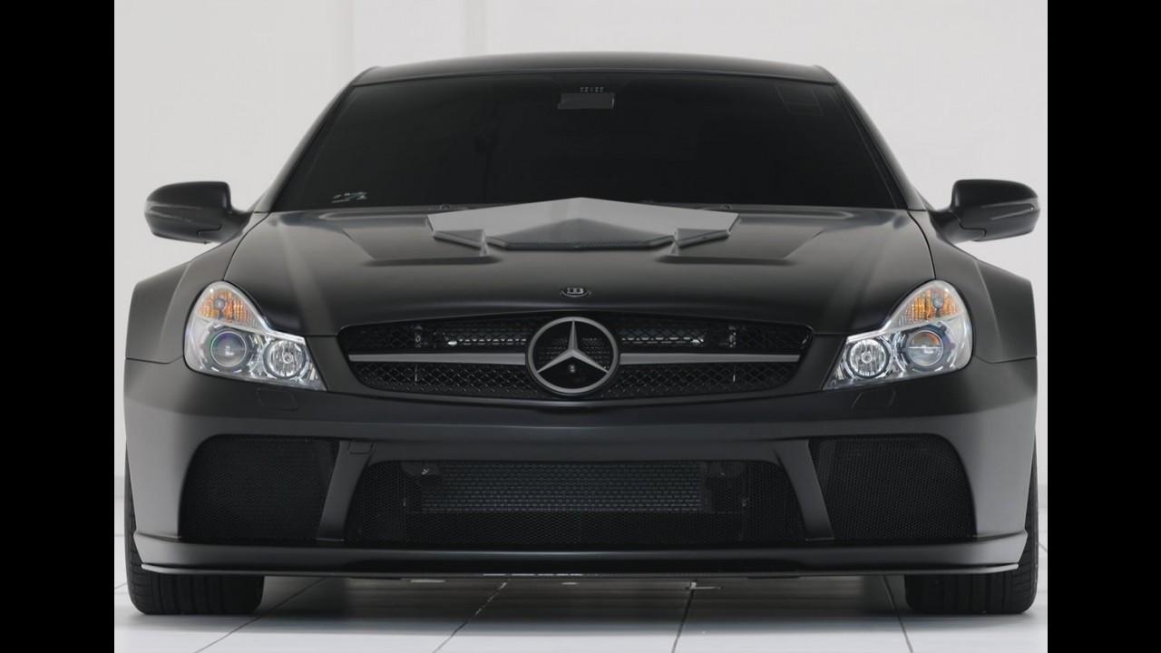 Fotos: Brabus mostra sua Mercedes-Benz SL65 AMG Black Series 2010 com 788 cv!
