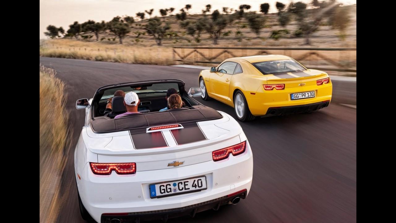 Chevrolet divulga Camaro 2012 Europeu - Modelo custará 38.900 euros