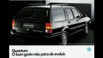 Carros para sempre: VW Santana - A marca do povo em busca de luxo