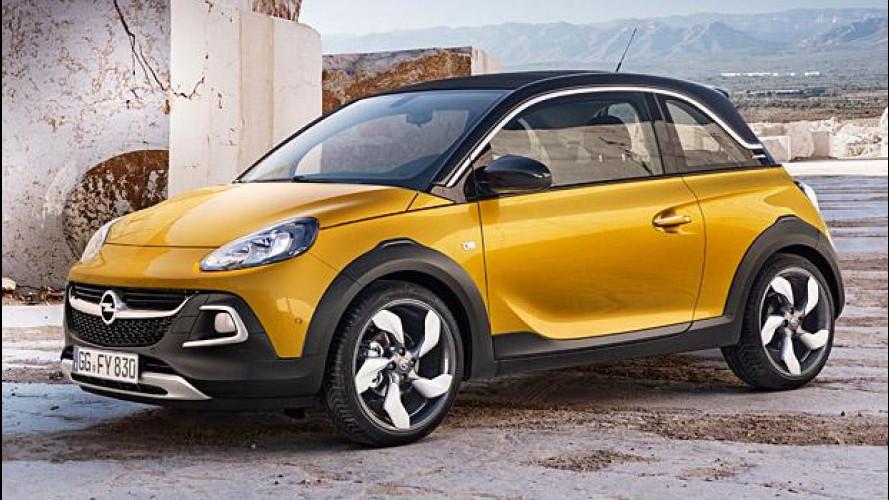 Opel Adam Rocks, crossover e decappottabile