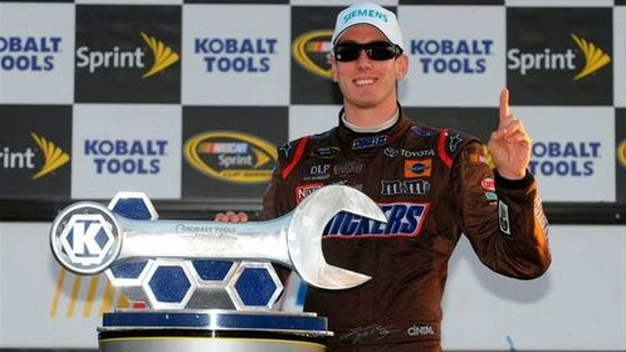 Kyle Busch gives Toyota their first NASCAR win