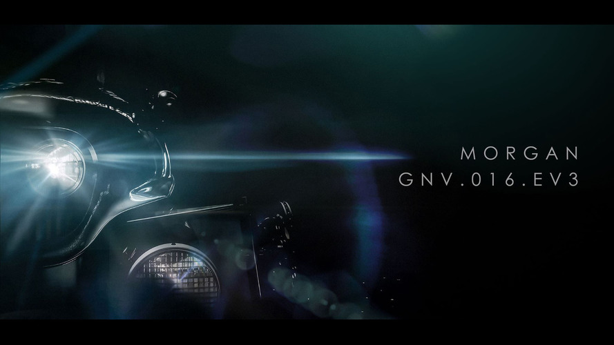Morgan EV3 teased for Geneva