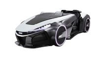 Mitsubishi previews radical EMIRAI 3 xDAS concept ahead of Tokyo debut