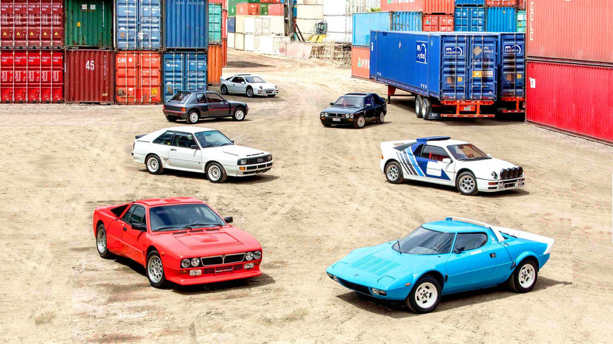 Amazing Group Of 'Killer B' Rally Cars Up For Auction [350 Pics]