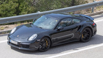 Porsche 911 Turbo 992 Spy Pics