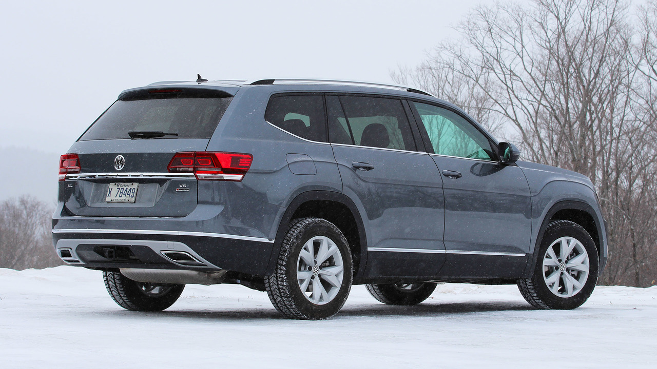 2018 Volkswagen Atlas First Drive A Firm Handshake