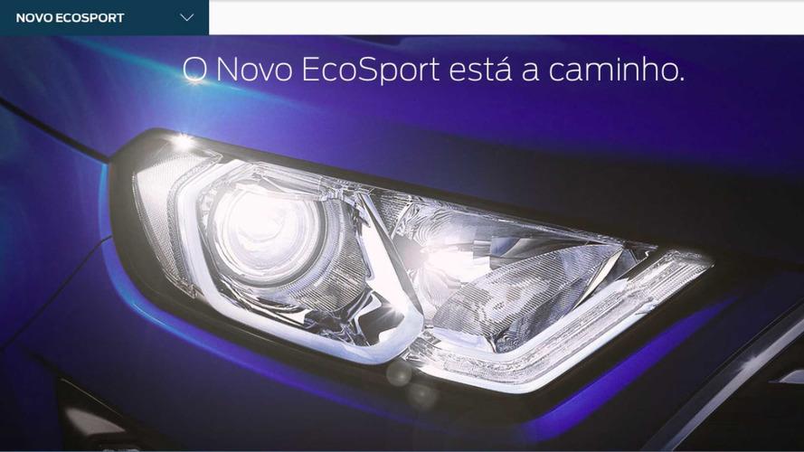Novo EcoSport 2018 já é anunciado no site brasileiro da Ford