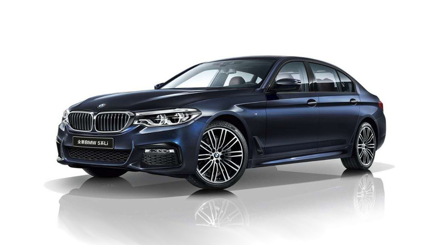 Çin'e özel BMW 5 Serisi Lİ tanıtıldı