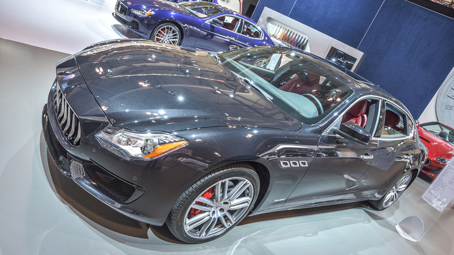 Maserati Quattroporte GranSport - 2017 Toronto auto show
