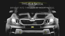 Skoda Yeti concept teaser (modified)
