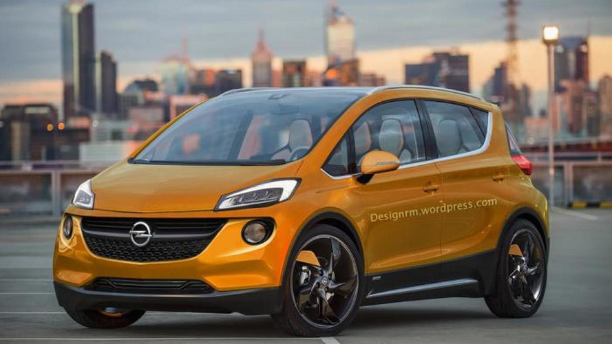 Chevrolet Bolt EV concept rendered as a production-ready Opel model