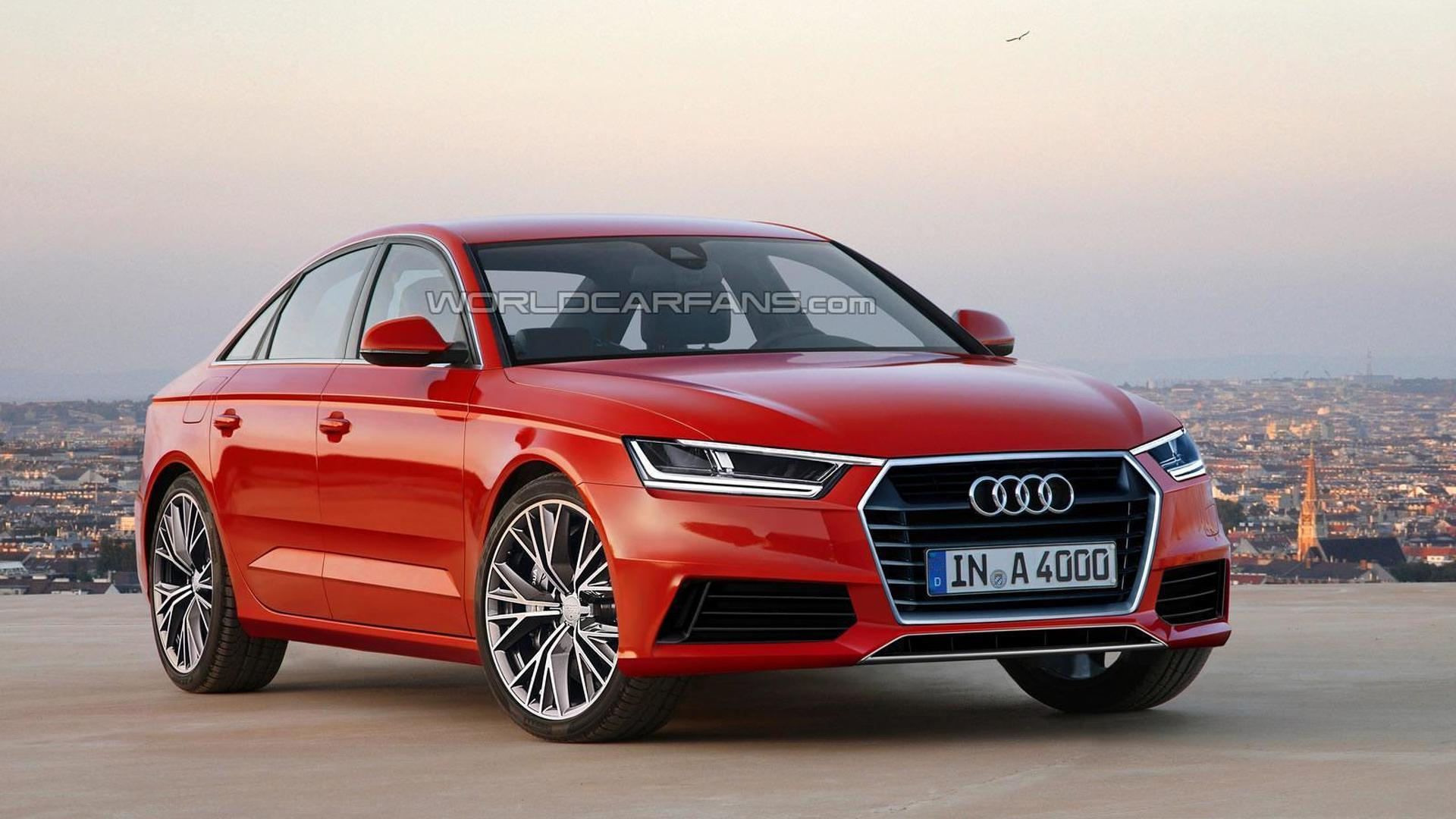next generation audi a4 and a4 avant speculatively rendered. Black Bedroom Furniture Sets. Home Design Ideas