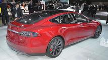 Tesla Model S P85D at 2015 NAIAS