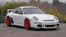 Porsche 997 GT3 upgraded by KAEGE with more power, less weight