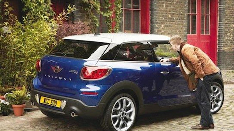 MINI Paceman goes official