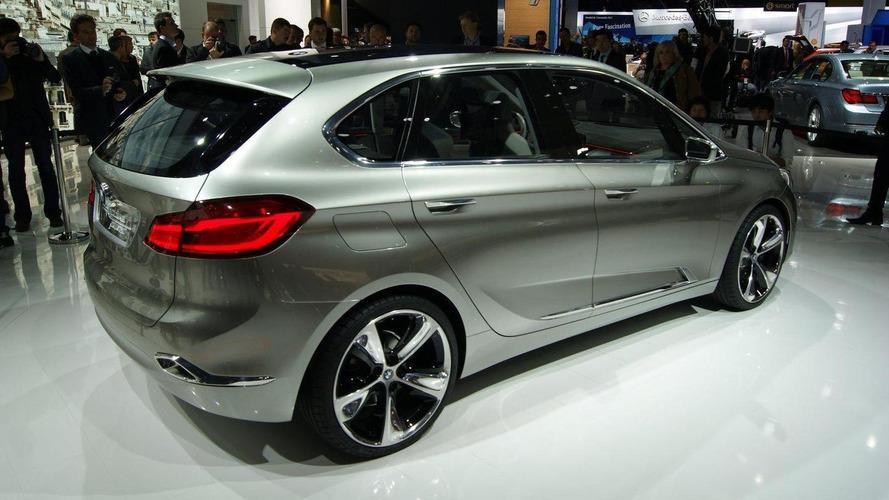 BMW Concept Active Tourer live in Paris