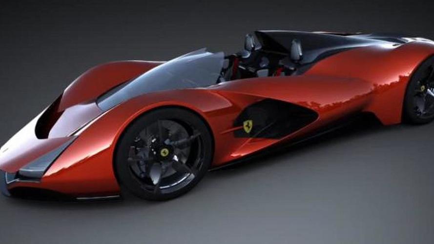 Ferrari Aliante Concept envisions extreme two-seat roadster [video]