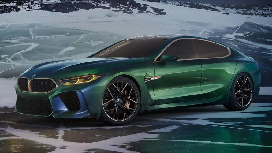 BMW Concept M8 Gran Coupé, prove di ammiraglia sportiva al Salone di Ginevra