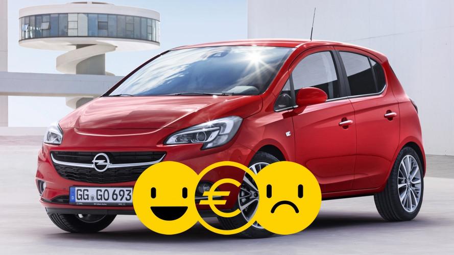 Promozione Opel Corsa, perché conviene e perché no