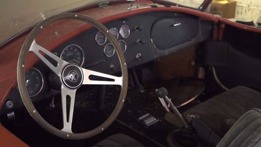 $4M Cobra Ferrari Barn Find