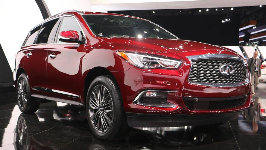 2019 Infiniti QX60 QX80 Limited Editions