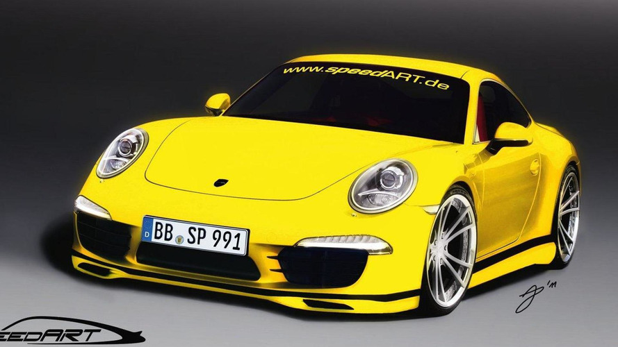 SpeedART previews 2012 Porsche 911 tuning program