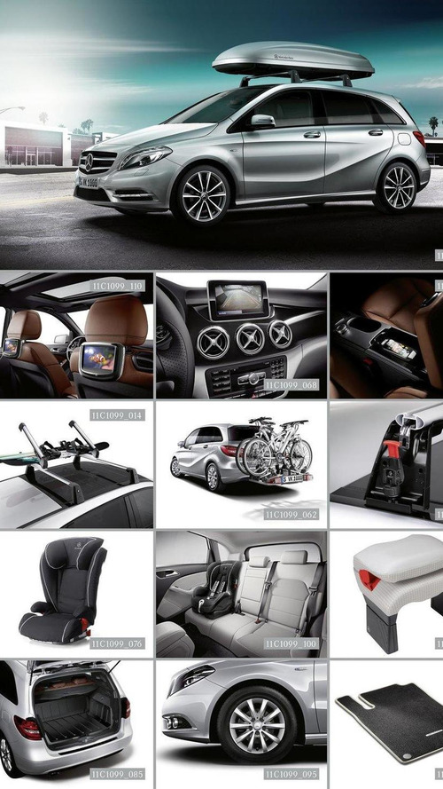 Mercedes-Benz accessories for the B- and M-Class