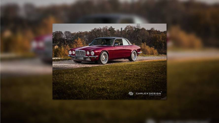 Carlex Design's Lovely Jaguar XJ Coupe Looks Brand New