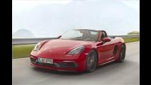 Porsche Boxster und Cayman GTS sind hier