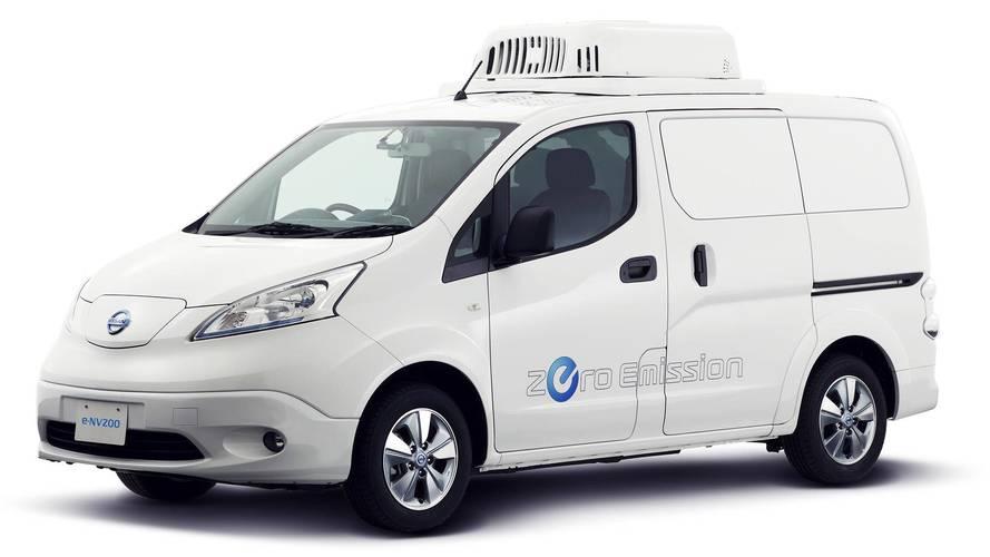 Nissan à Tokyo avec une ambulance et un concept d'e-NV200