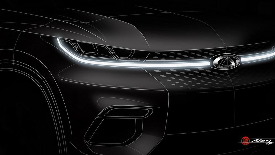 2017 Chery SUV teasers