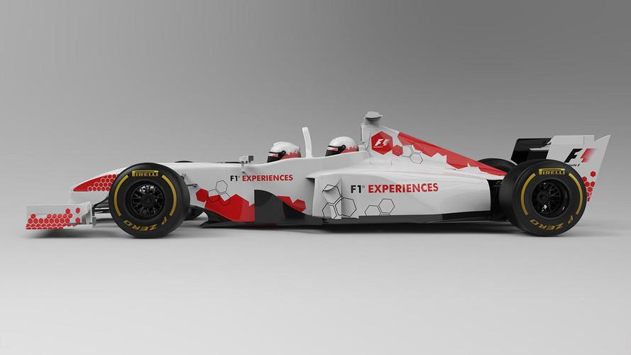 Así es el F1 biplaza, tras su última actualización