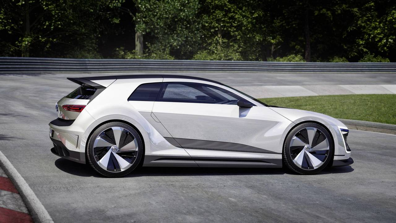 2005 VW Golf GTE Sport concept