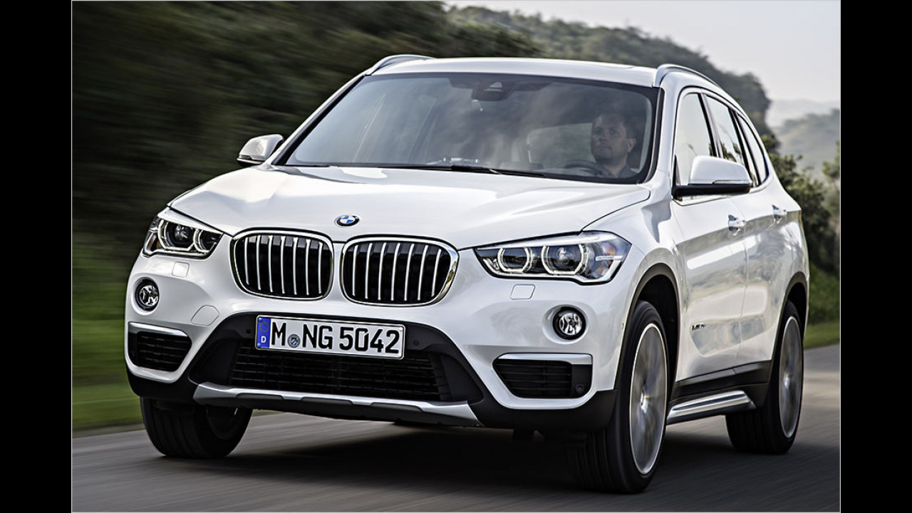 BMW X1: 16.406 Neuzulassungen