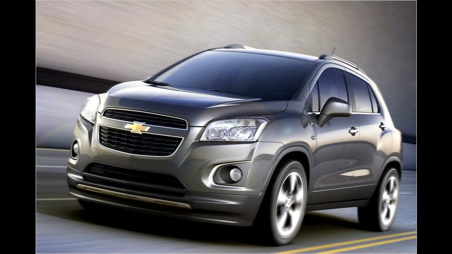 Neues Kompakt-SUV von Chevrolet