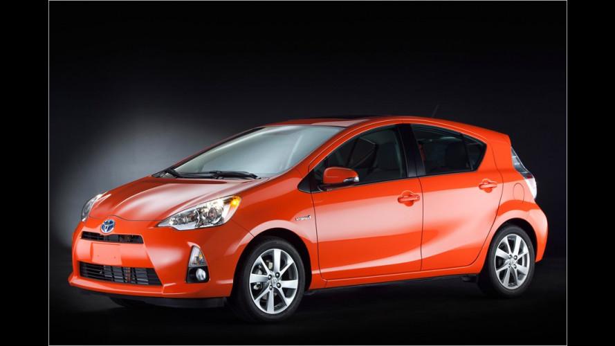 Toyota in Detroit: Die neuen Hybriden