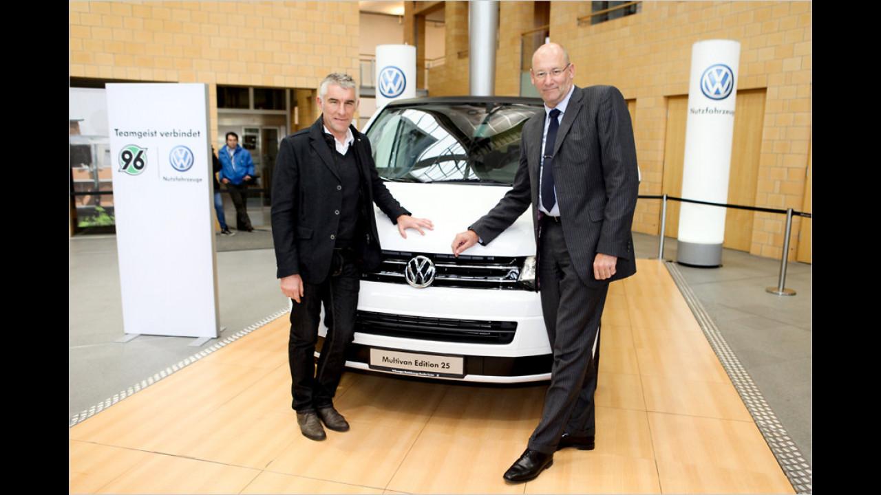 Mirko Slomka: VW Multivan