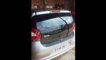 Mais um flagra do Fiat Mobi: versão básica não tem limpador traseiro
