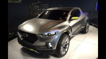 Hyundai considera produzir picape Santa Cruz após boa aceitação do público