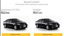 Renault Fluence 2017 perde versões e preço inicial vai a R$ 92.650
