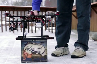 FAA Shuts Down Flying Beer Drone Delivery Service
