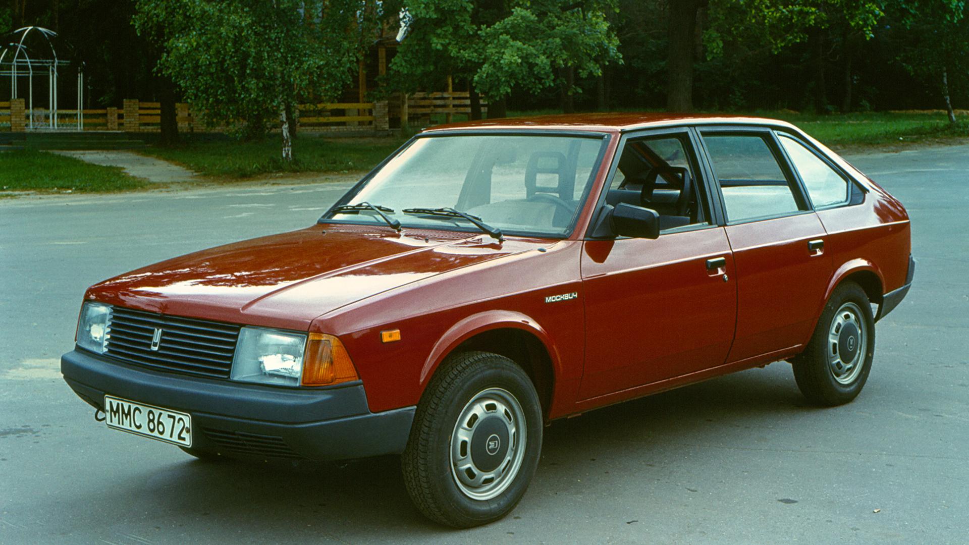 Soviet Cars Were Weird Moskvitch Aleko