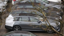 Mercedes E Class Estate spy photo