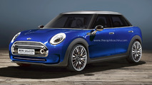 Mini Saloon Concept render by Theophilus Chin