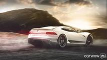 Supercar Tesla concept